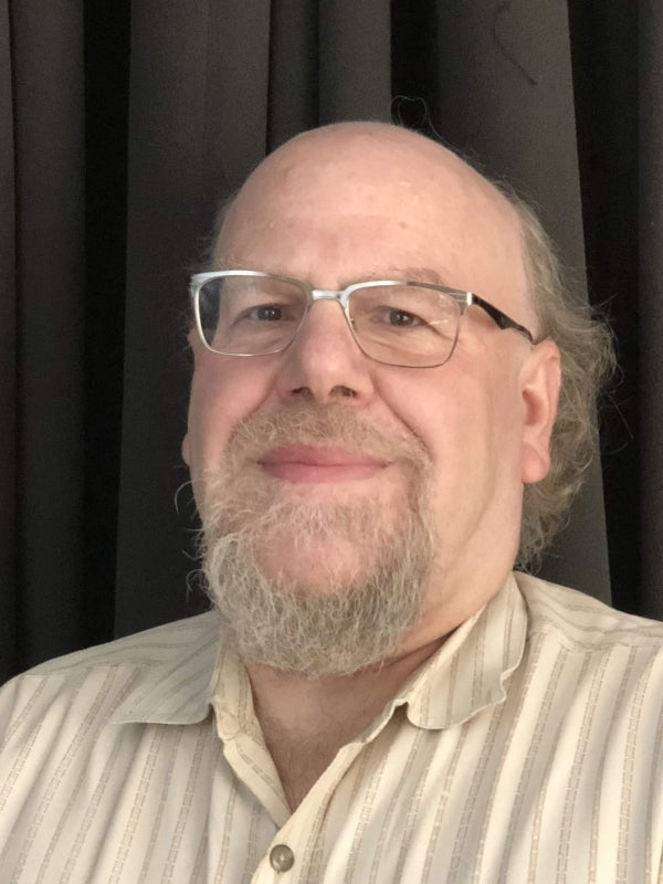 Photo of Professor James Hendler, Director of IDEA